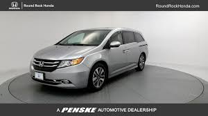 2017 used honda odyssey touring elite automatic at round rock