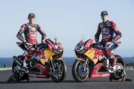 superbike honda season opener beckons for the red bull honda world superbike team