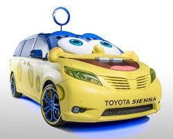 nickelodeon and toyota partner to create spongebob toyota sienna
