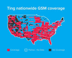 Gsm Coverage Map Usa by Amazon Com Ting Gsm Sim Card U2013 Average Monthly Bill Is 23 No