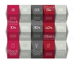 Data Table Design Table Schedule Template 3d Business Design Stock Vector Art