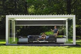 louvered roof camargue renson outdoor