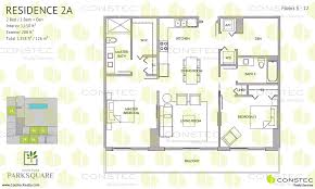 floors plans aventura park square floor plans