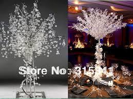 tree centerpiece free shiping 5pcs lot wedding centerpiece beaded wedding