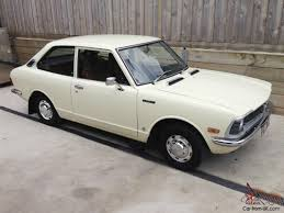 toyota old cars corolla 1974 ke20 2 door 4 speed manual classic retro vintage