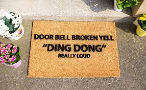 Come In And Go Away Doormat 50 Of The Funniest Doormats To Greet Your Guests Awesome Stuff 365