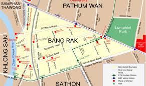 Bangkok Map Bangkok Red Light District Map 62nd Mpco Lamp U0026 Lightning