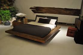Floating Beds by Modern Wood Bed Frame Modern Wooden Beds Contemporary Wood Beds