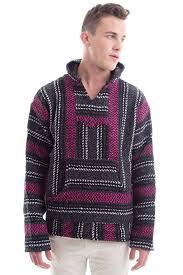 baja sweater mens rug hug baja rug hoodie