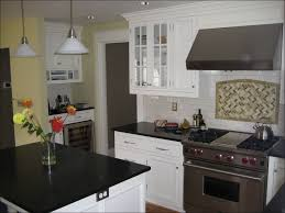 kitchen kitchen interior appealing stones subway tile white
