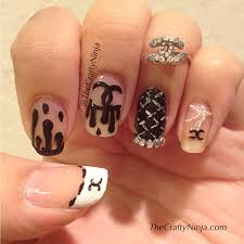 12 chanel nail designs pictures chanel inspired easy nail art