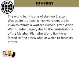 World Bank Ppt Worlds Best Ppt