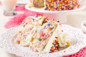homemade scratch funfetti birthday cake recipe 9 10