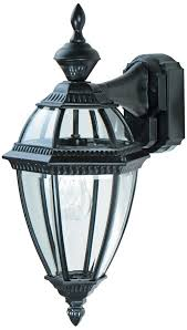 Motion Activated Outdoor Light Heritage Black 21