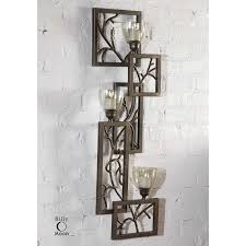 Nickel Candle Wall Sconce Uttermost Candle Wall Sconces Sconce Privas Oversized 13 18 17