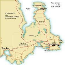 regional map of