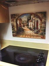 kitchen backsplash murals tile mural ebay