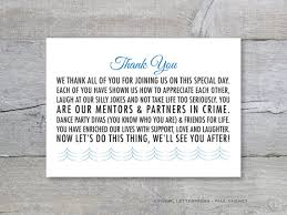 thank yous on wedding programs diy thank you card thank you message wedding program