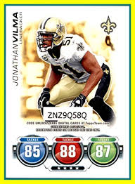 jonathan vilma new orleans saints cards cool saints fan gear