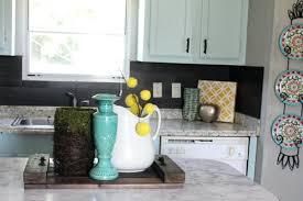 vinyl kitchen backsplash backsplash vinyl tiles our using vinyl flooring re great idea for