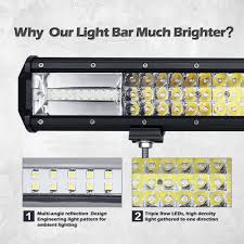 Led Work Light Bar by 162w Cree Led Work Light Off Road Light Bar Spot Flood