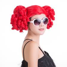 red wigs for halloween afro wig u2013 halloween wigs cosplay wigs synthetic wigs