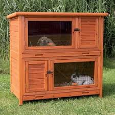 Sale Rabbit Hutches Trixie Extra Large Rabbit Hutch With Attic Free Shipping Today
