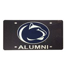 penn state alumni license plate penn state car accessories psu license plate frames more