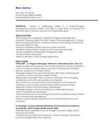 nursing manager resume objective statements project manager resume objective nardellidesign com