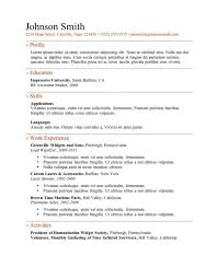 Free Printable Resume Templates Online by Resume Templates Free Printable