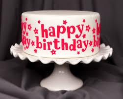happy birthday u201d silicone onlays cake decorating