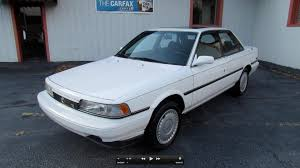 1990 toyota camry le v6 start up exhaust in depth tour and test