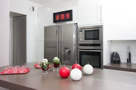 cuisine avec frigo americain cuisine avec frigo américain maison image idée