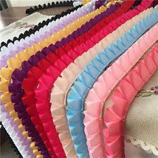 ruffled ribbon lace ribbon trims ebay