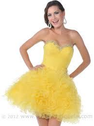 strapless short prom dress sung boutique l a