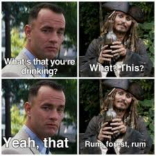 Rum Meme - there s angostura rum appleton bacardi cruzan don q havana