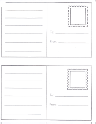 unique postcard template for kids software game us