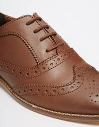 Million Dollar Tan Products Asos Million Dollar Leather Brogues In Brown Lyst