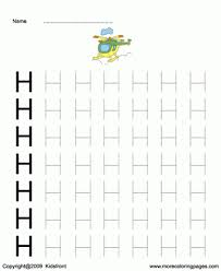 printable capital letter dot to dots h coloring worksheets free