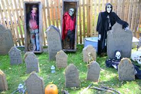 static crypt yard opening soon for a haunting halloween local