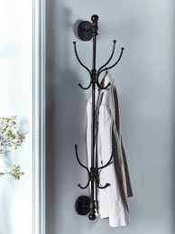 industrial wall mounted coat rack
