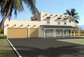 santa fe style house plans plan 41 441