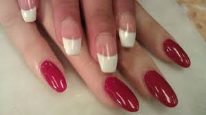 how to do gel nails french youtube