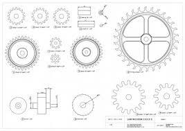 wood free wood gear clock plans blueprints pdf diy download how