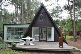 tiny portable home plans apartments modern a frame house plans modern a frame house