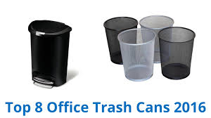 office trash cans safco square rectangle trash cans waste bins for