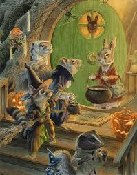 rabbit treehouse chris dunn illustration paisley rabbit and the treehouse