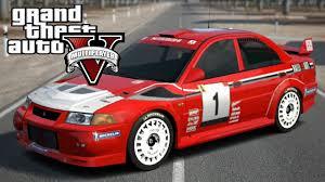 mitsubishi race car mitsubishi lancer evo 6 rally wrc gta5 mods com
