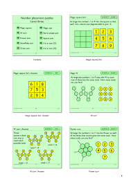 Magic Square Worksheet Search Results Teachit Maths