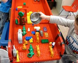 duplo preschool play table duplo r for the water table another fab idea from the sand and